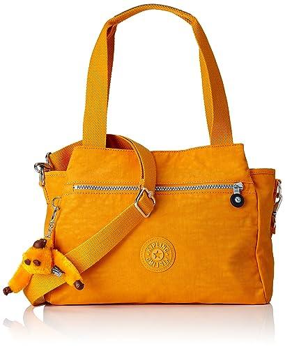Elysia K4379118G Damen Schultertaschen 80x38x29 cm (B x H x T), Orange (Sunset Yellow) Kipling