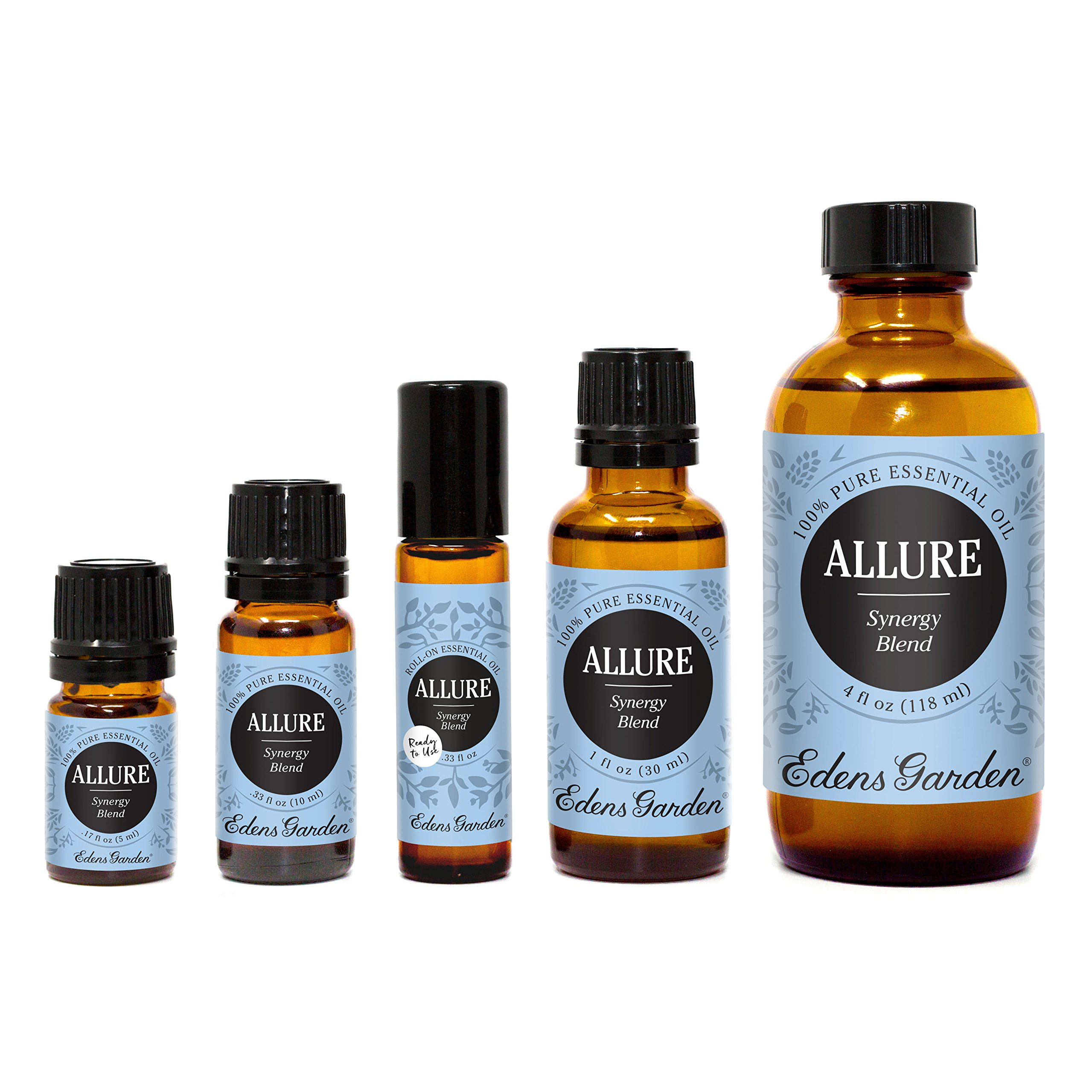 Edens Garden Allure Essential Oil Synergy Blend, 100% Pure Therapeutic Grade (Highest Quality Aromatherapy Oils- Aphrodisiac & Stress), 10 ml by Edens Garden
