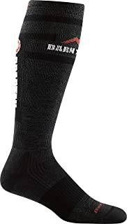 product image for Darn Tough Spartan 1026 Womens Spartan OTC Over The Calf Light Cushion, Official Sock of Spartan U.S, Charcoal Spartan, Small