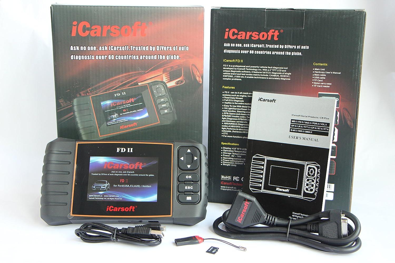 Amazon com: iCarsoft FD II Ford Holden Car Diagnostic