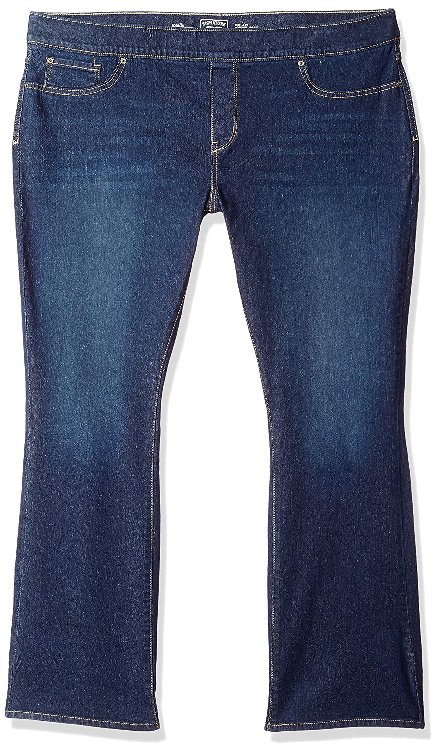 5928a79e93f Signature by Levi Strauss   Co. Gold Label Women s Plus-Size Totally  Shaping Pull On Bootcut Jeans