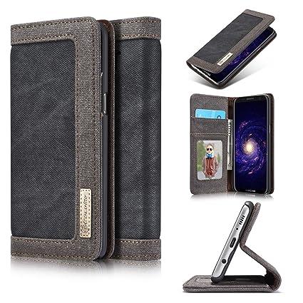 755dcd565619e9 Amazon.com  JGOO Wallet Case for Samsung Galaxy S10 Plus