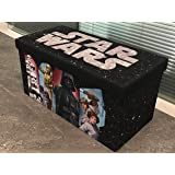 "Disney Star Wars Collapsiblie Storage Bench, 30"" W, Multi Color"