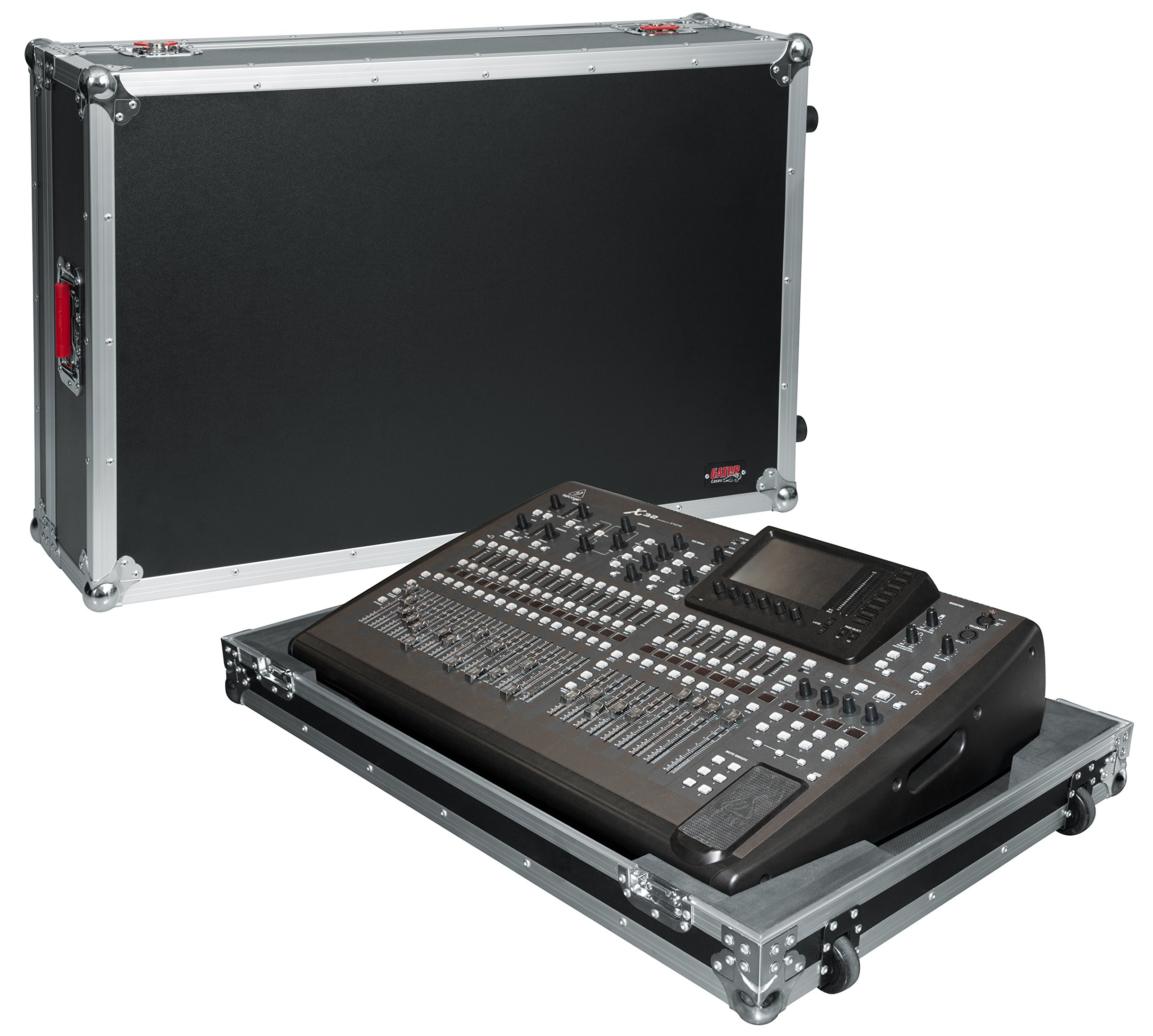 Gator Cases G-TOUR ATA Style Road Case - Custom Fit for Behringer X32 with Built in Wheels and Tow Handle; (G-TOUR X32NDH)