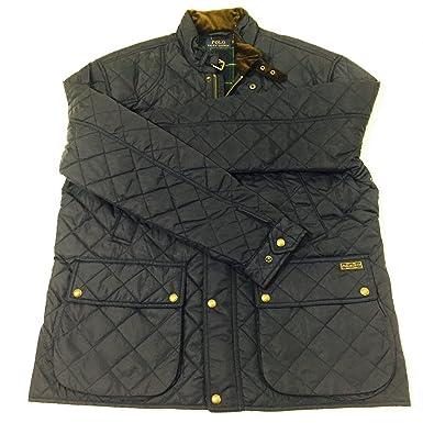 Polo Ralph Lauren Mens Quilted Caldwell Navy Jacket Big Tall Coat ... : ralph lauren quilted vest mens - Adamdwight.com