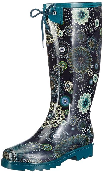 sports shoes 1d7cc 6e2ba Desigual Ankle Boot Alile-1 38AS222510636, Stivali da Pioggia Donna
