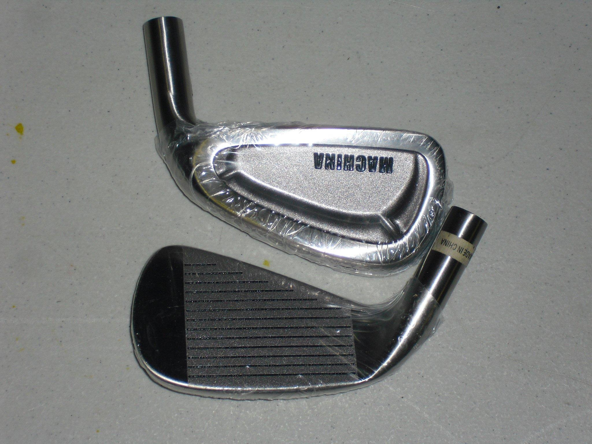 Machina Golf Iron Heads Set 17-4 Stainless Steel 3-PW,SW,LW
