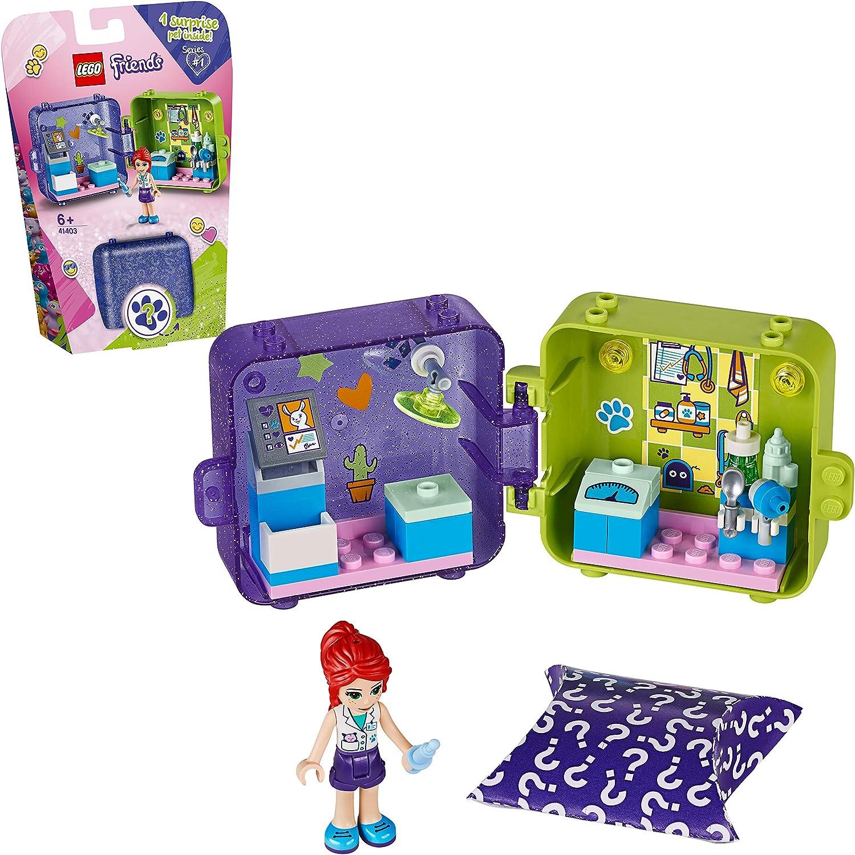 LEGO Friends - Cubo de Juegos de Mia, Caja de Juguete con Accesorios y Mini Muñeca de Mia, Set Recomendado a Partir de 6 Años (41403) , color/modelo surtido
