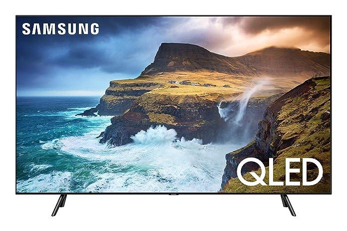 SAMSUNG 55u0022 Class 4K Ultra HD (2160P) HDR Smart QLED TV QN55Q70R (2019 Model)