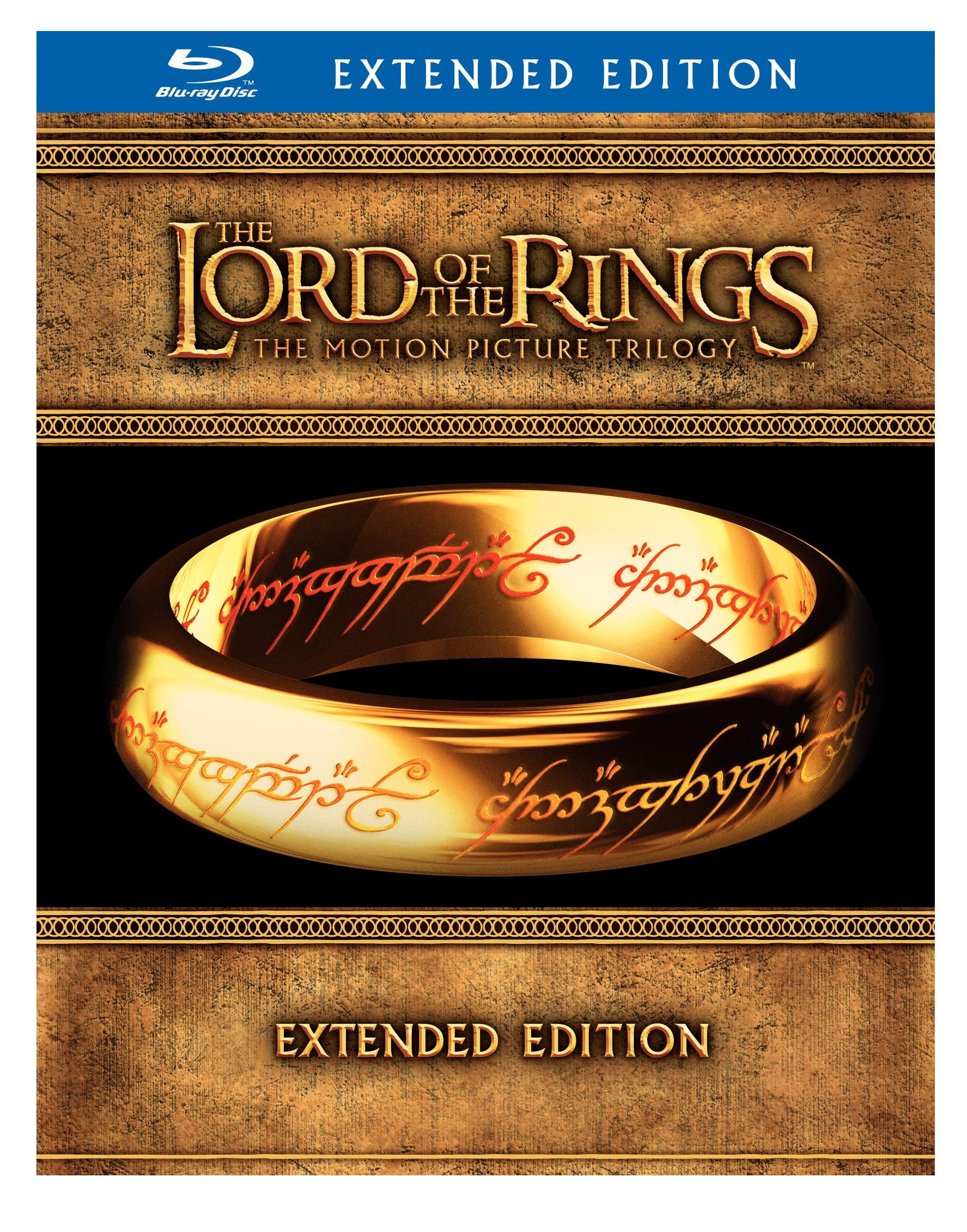 The Lord of the Rings: The Motion Picture Trilogy (The Fellowship of the Ring / The Two Towers / The Return of the King Extended Editions) [Blu-ray] by Warner Bros.