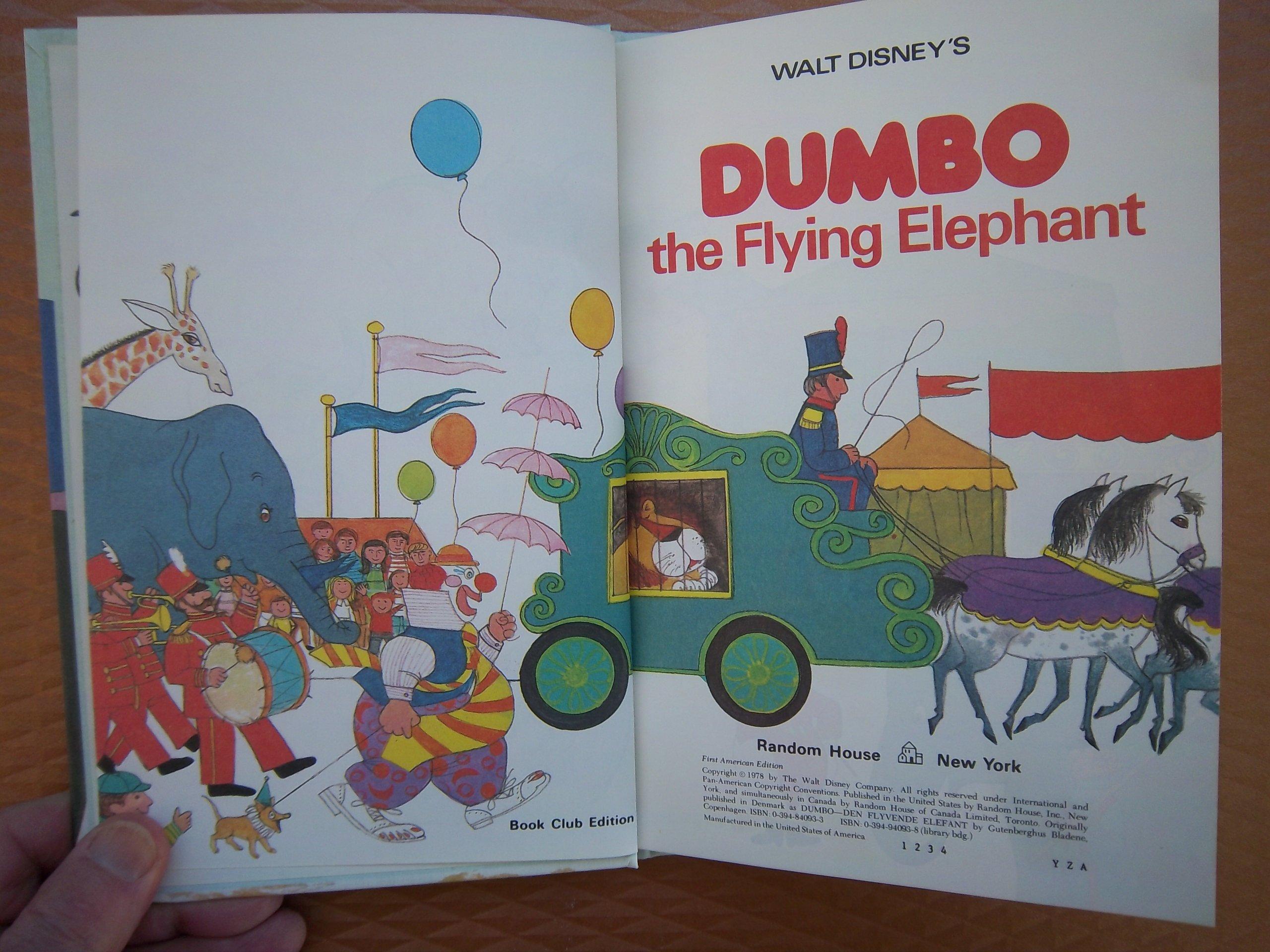 walt disney u0027s dumbo the flying elephant disney u0027s wonderful world