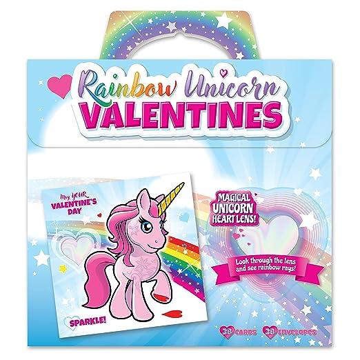 unicorn valentines day cards