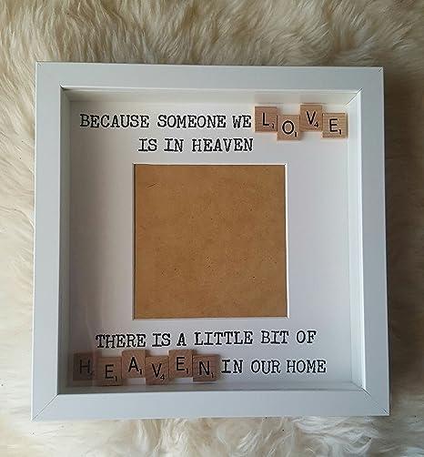 Sympathy Scrabble Frame - Scrabble frame - Little Bit of Heaven in ...