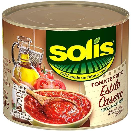 Solis - Estílo Casero - Tomate Frito - 3 x 100 g: Amazon.es: Alimentación y bebidas