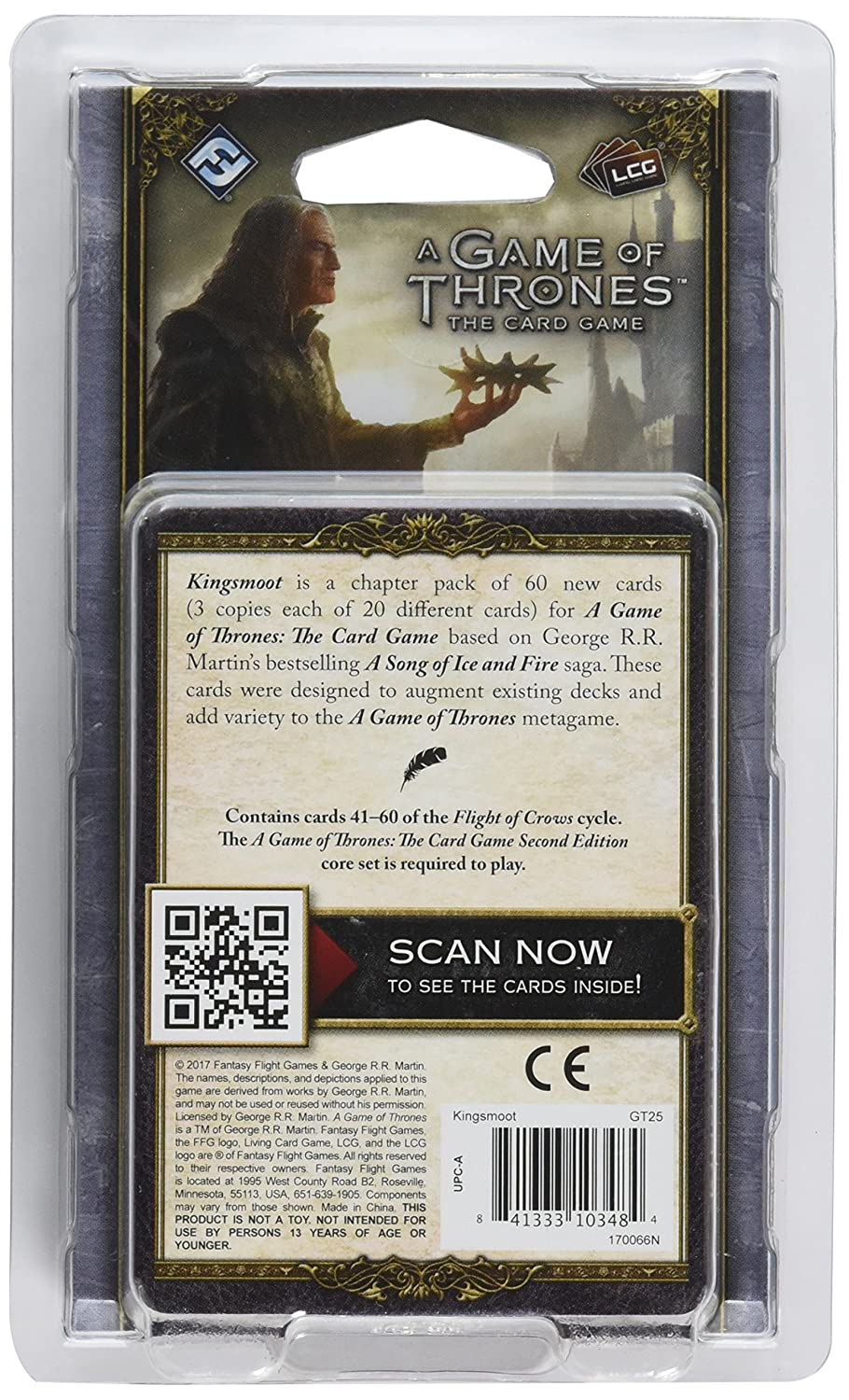 A Game of Thrones LCG Second Edition Kingsmoot Fantasy Flight Publishing GT25