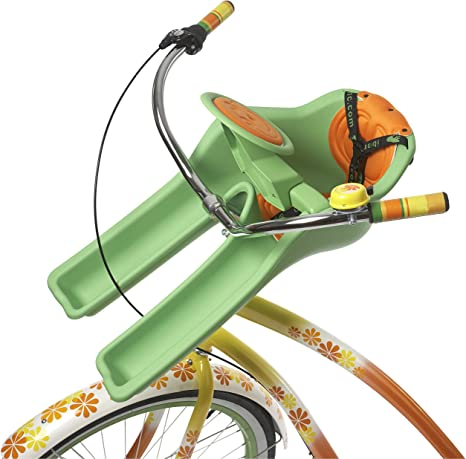 I Bert Ibertgreen Sillita Portabebé Bicicleta, Unisex bebé, Verde ...