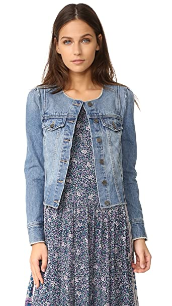 factory authentic most popular competitive price Joie Women's Cranham Jacket, Washed Denim, XS: Amazon.in ...