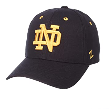 new product a4d36 e85e8 Zephyr NCAA Notre Dame Fighting Irish Men s Competitor Hat, Adjustable, ...