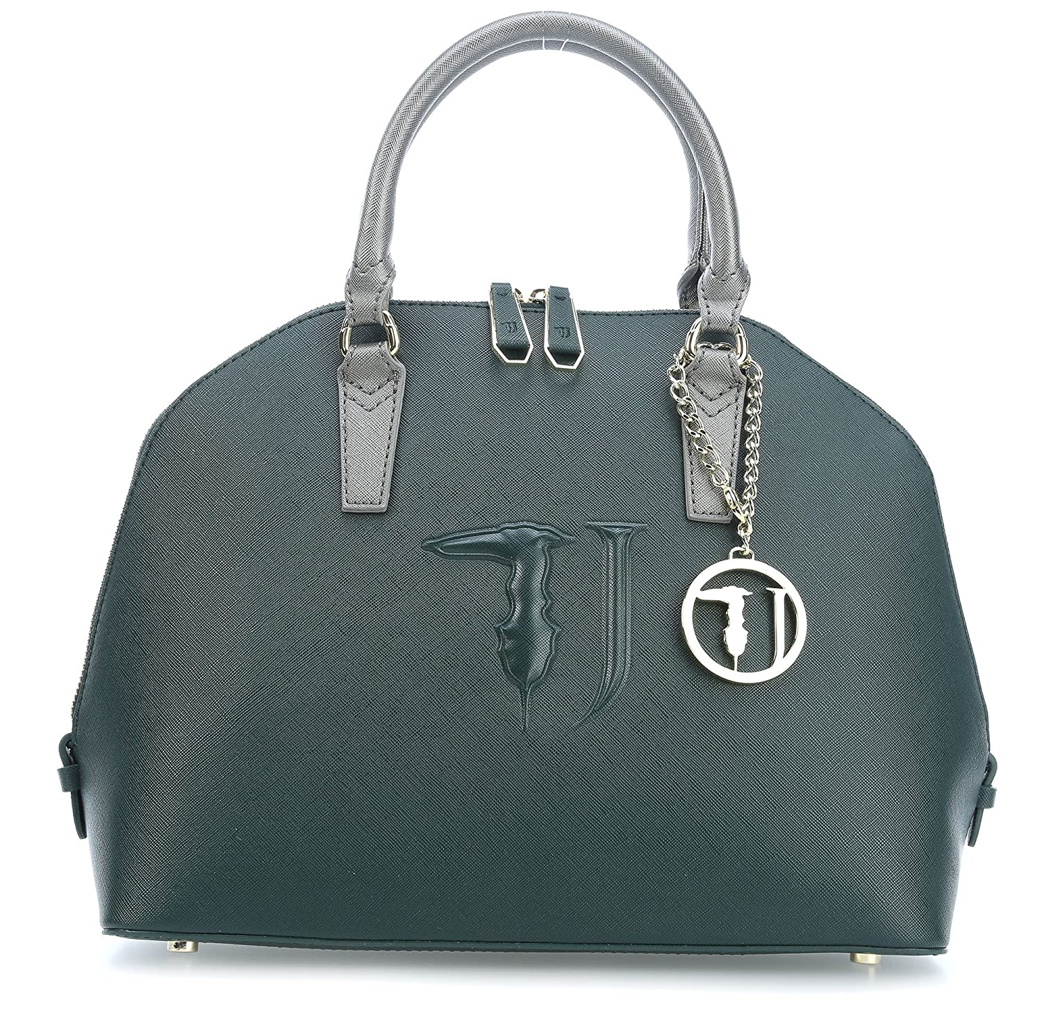 Trussardi Jeans Ischia Ecoleather Handbag forest: Amazon.co