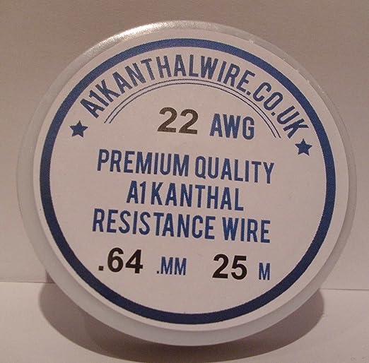 6 opinioni per GelcapsUK 22AWG- Filo per resistenza di tipo A1, 0,64 mm, con bobina 25 m. 4.26