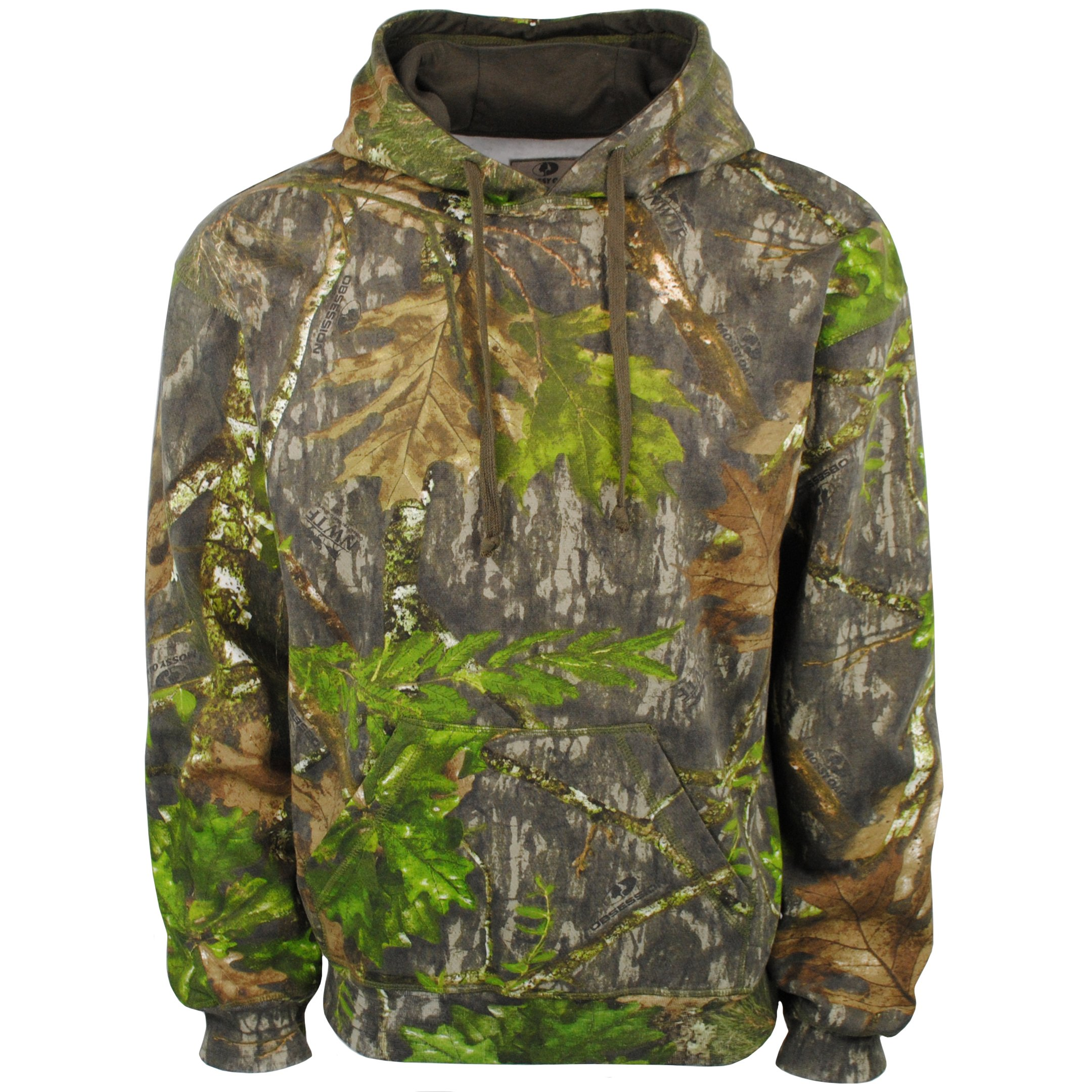 Mossy Oak Men's Vintage Camo Hunt Hoodie, Obsession, Small by Mossy Oak