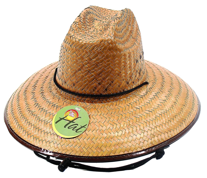 Amazon.com : EASY GARDENER MS0001 Men\'s Straw Hat : Lifestyle ...