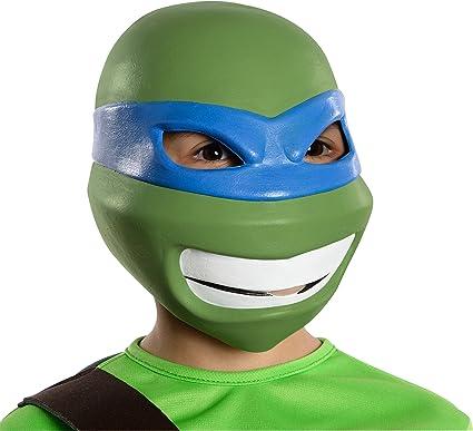 Amazon Com Teenage Mutant Ninja Turtles Leonardo 3 4 Mask Toys Games