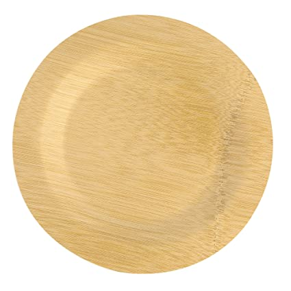 Lovely Bamboo 9-inch disposable plates pack of 10 strong and eco-  sc 1 st  Amazon.com & Amazon.com: Lovely Bamboo 9-inch disposable plates pack of 10 ...