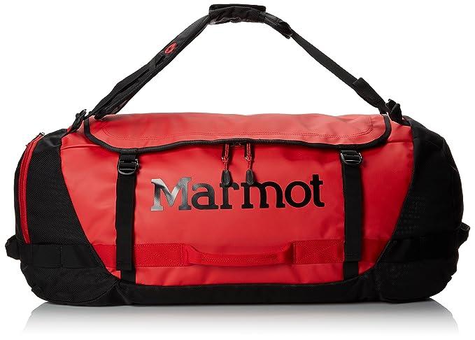 Amazon.com  Marmot Unisex Long Hauler Duffle Bag - Small Team Red ... 91bf7c5c9460