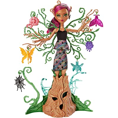 Monster High Garden Ghouls Treesa Thornwillow Doll: Toys & Games