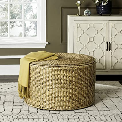Amazoncom Safavieh Sea7034a Home Collection Jesse Natural Wicker