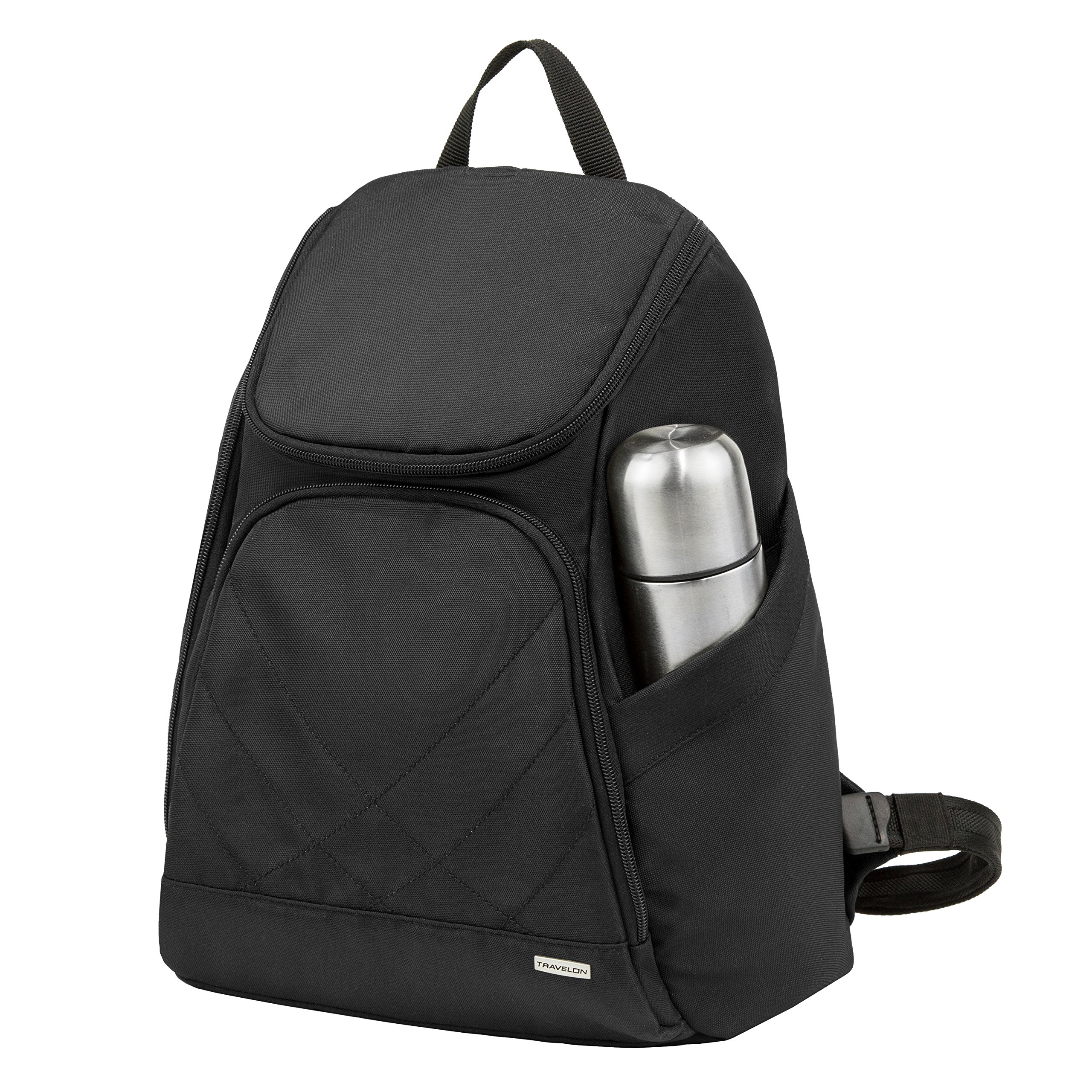 Travelon Backpack,Black,One Size by Travelon