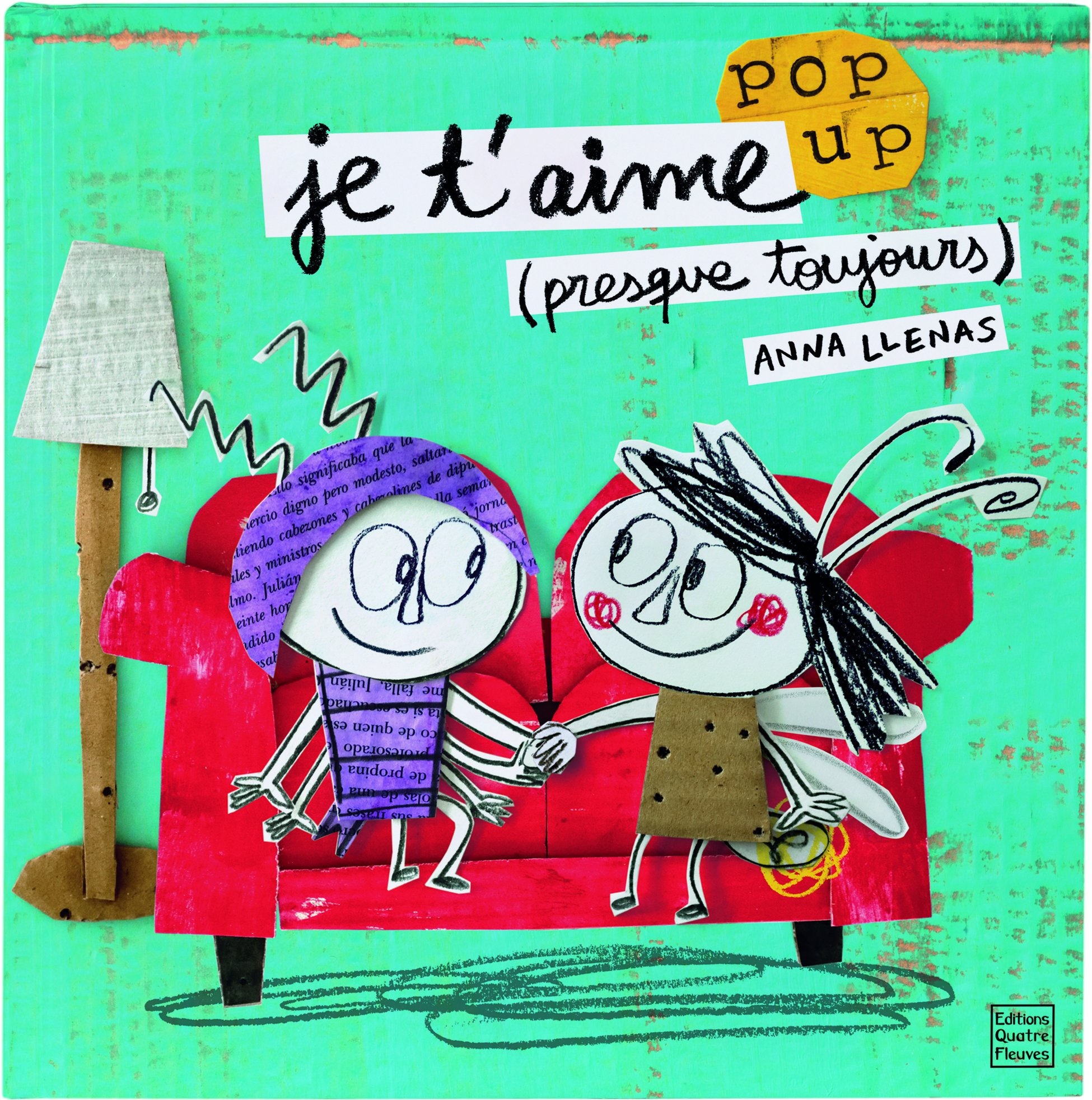 Amazon.fr - Je t'aime (presque toujours) - Anna Llenas, Catherine Hellier -  Livres