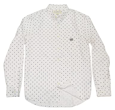 4e269c7b4f Image Unavailable. Image not available for. Color  Ralph Lauren Polo Denim  Supply Mens Polka Dot Casual Star Shirt Cream ...