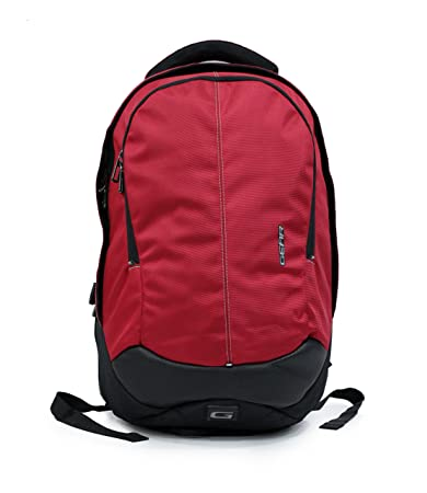 8ef96a244b Image Unavailable. Image not available for. Colour  Gear Outlander 3 37  Ltrs Red and Black Laptop Backpack ...