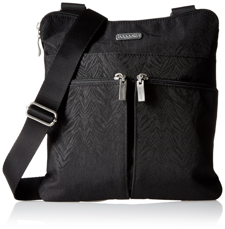 Baggallini Horizon Zebra Cross Body Bag