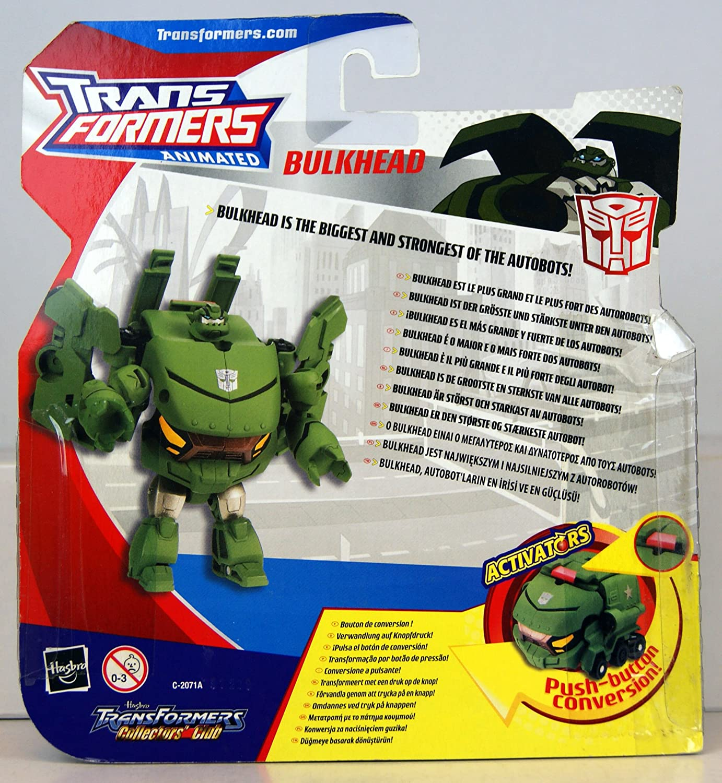Transformers Animated Activators Bulkhead New