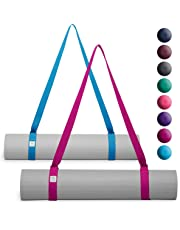 Gaiam Easy-Cinch Yoga Mat Slings (Sold Individually in Assorted Color Options)