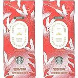 Starbucks Coffee Seasonal 2020 Christmas Blend Coffee - Pack of 2 Bags - 16 oz Per Bag - 32 oz Total - Bulk Limited Edition S