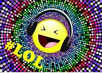 Emoji Smiley Einladungskarten 10 Stuck Fur Kindergeburtstag Im Set