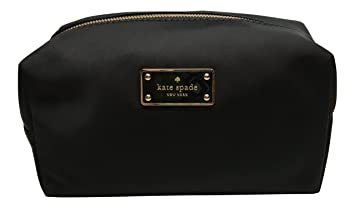 new arrival ec308 609ec Kate Spade New York Blake Avenue Medium Davie Cosmetics Bag (Black)