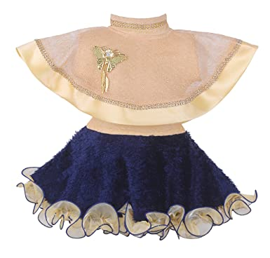 3e46607b6 Kids Girl Dress Poncho Style Frock for Baby Girls  Amazon.in ...