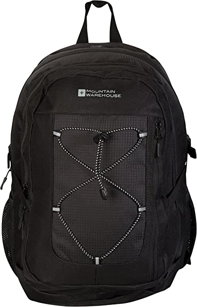 Mountain Warehouse Peregrine 30L Backpack Ripstop Daypack For Travelling, Festival