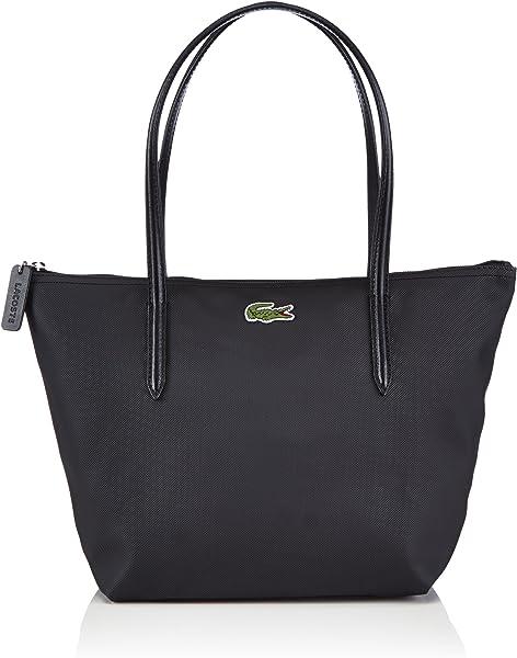 24d467d2b6f8 Lacoste Women s NF0946PO Totes Black (000)  Amazon.co.uk  Shoes   Bags