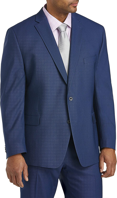 Michael half Kors Birdseye Suit Blue Fort Worth Mall Jacket-Executive Cut