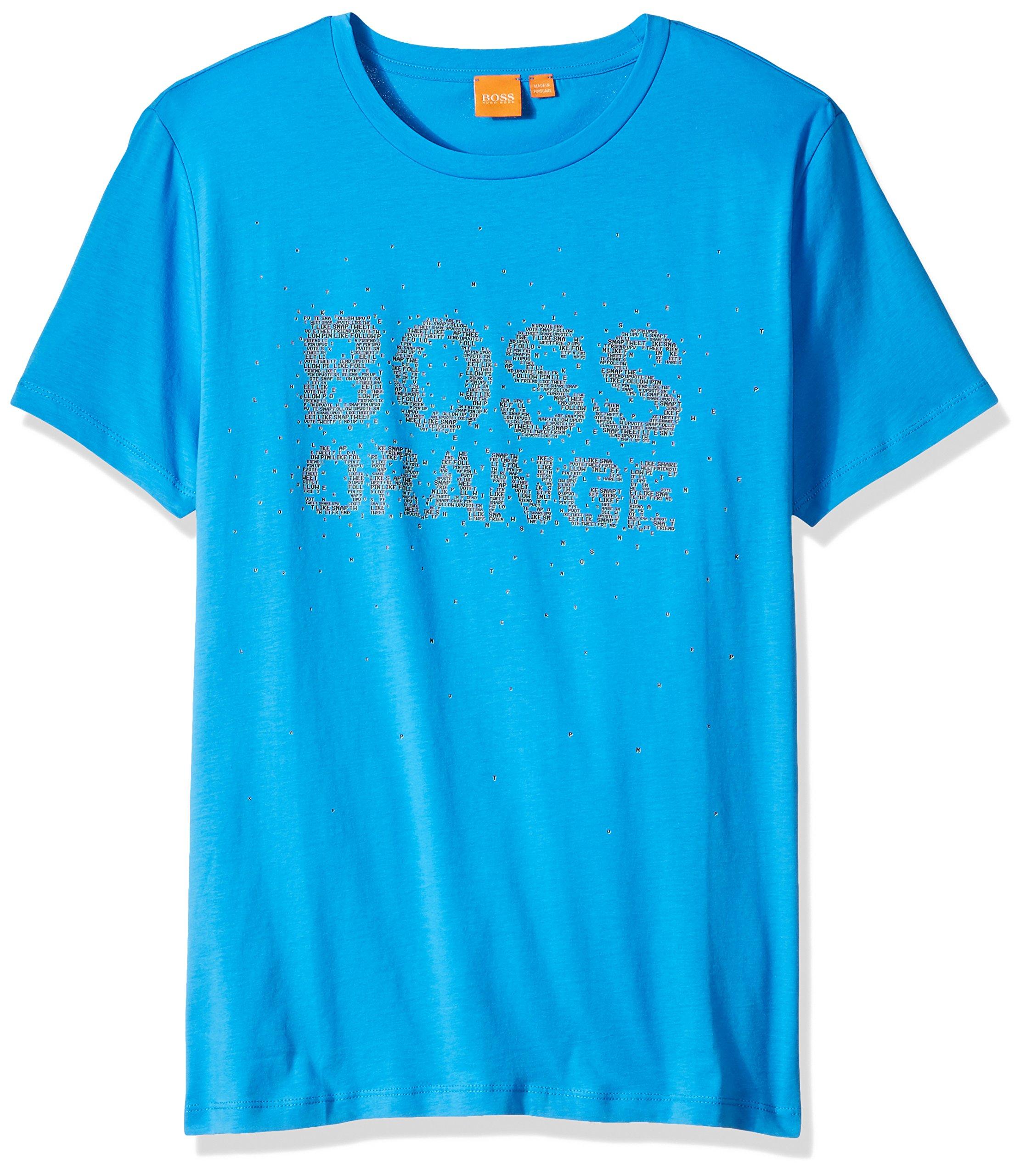 BOSS Orange Men's Turbulence 1 10131643 01, Bright Blue, XXL