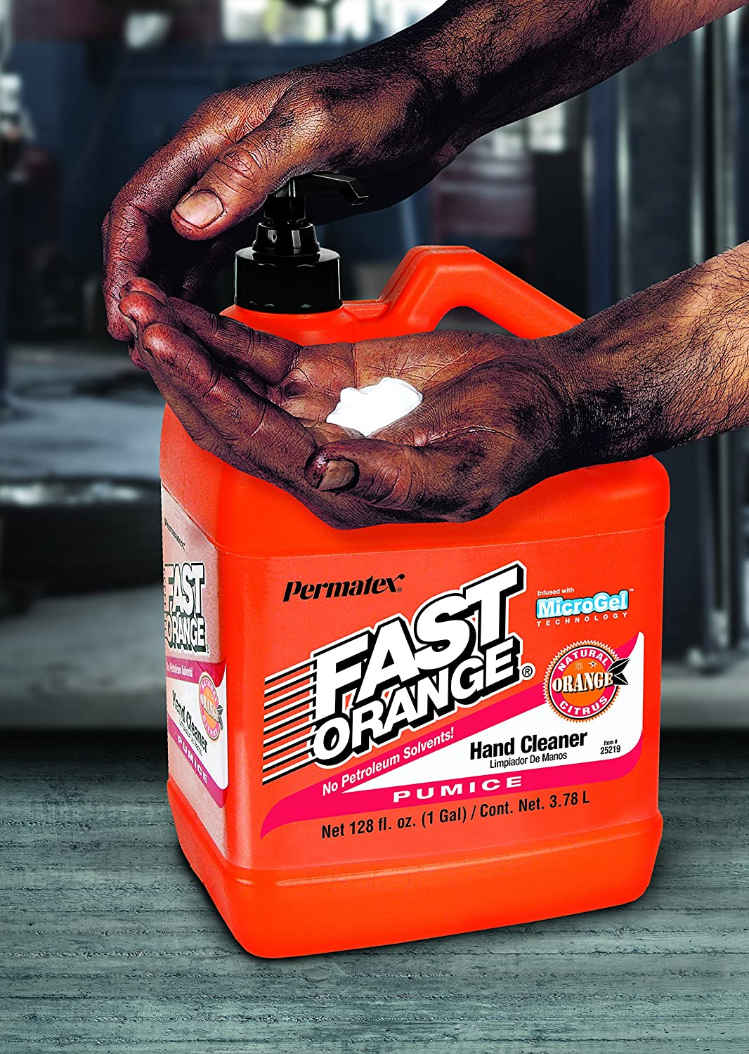 Amazon.com: Fast Orange 25419 Xtreme Fresh Scent Pumice Hand Cleaner: Automotive