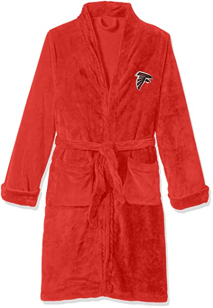 635c6eb1 The Northwest Company Officially Licensed NFL Atlanta Falcons Men's Silk  Touch Lounge Robe, Large/X-Large