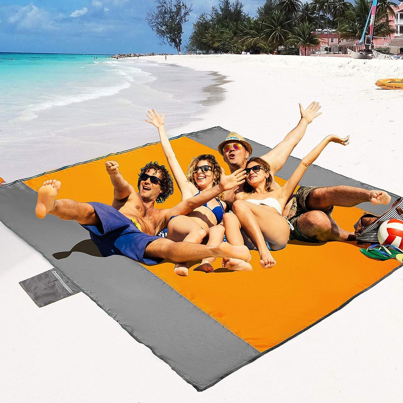 POPCHOSE Sand Free Beach Blanket