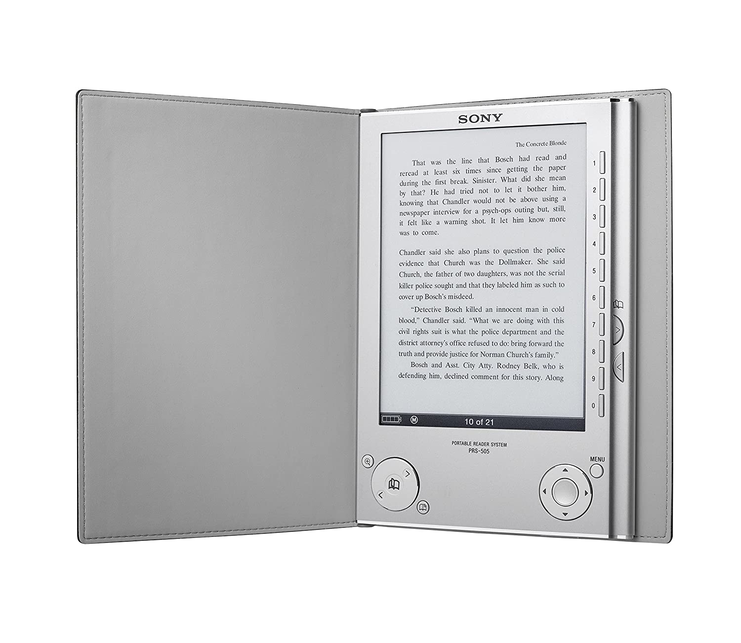 Amazon sony prs 505 portable digital e reader system silver amazon sony prs 505 portable digital e reader system silver home audio theater fandeluxe Gallery